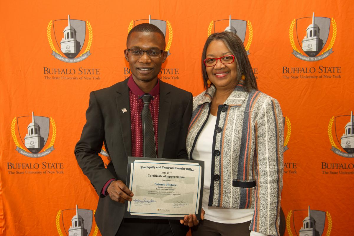 Student Ambassador with the President Conway-Turner