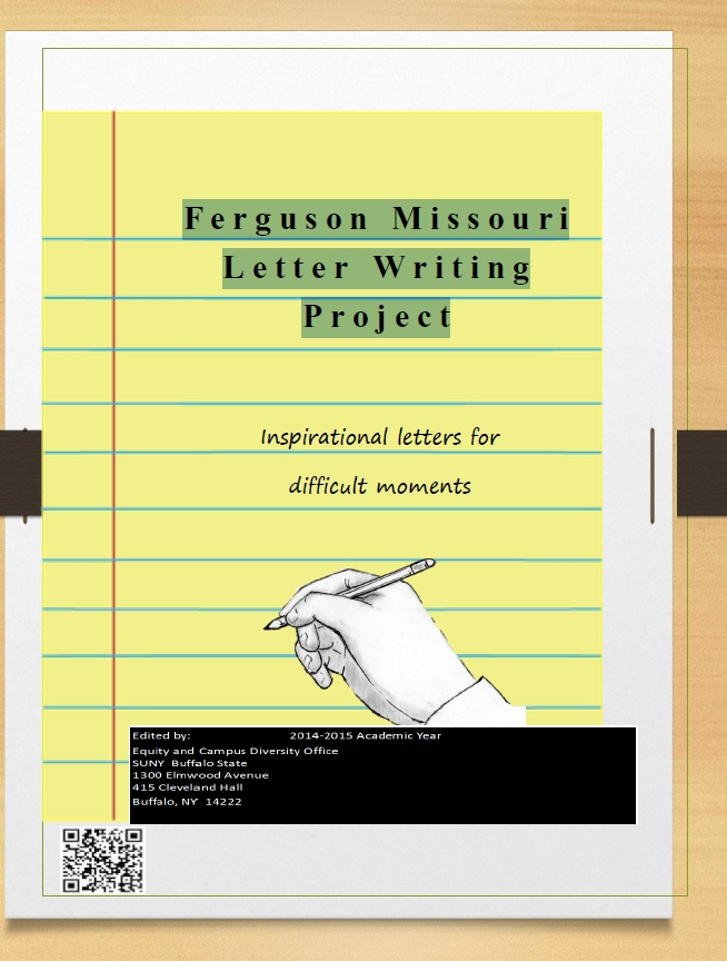 Ferguson Missouri Letter Writing Project cover