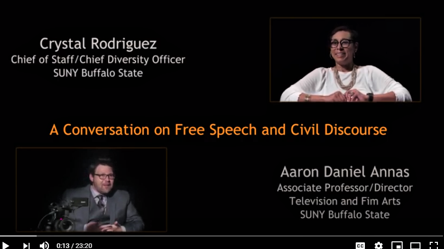 A Conversation on Free Speech and Civil Discourse